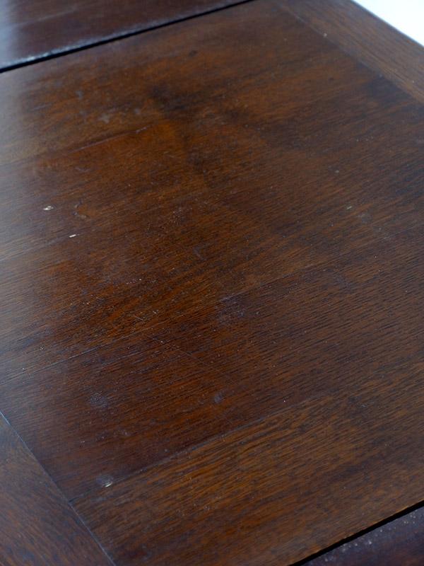 KC37 アンティーク オークスモールテーブル