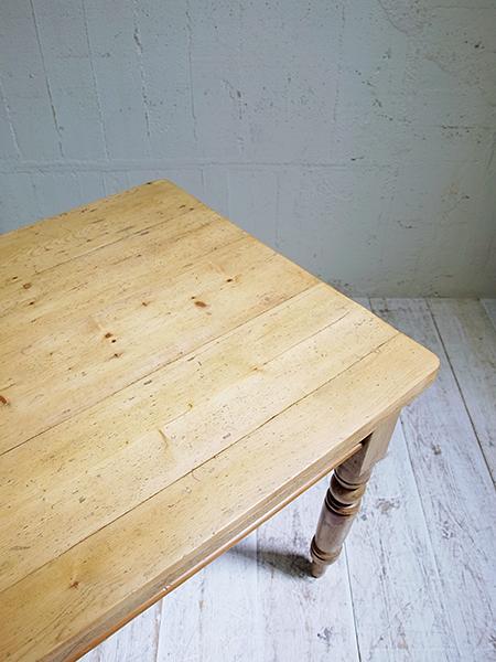PJ775 アンティーク オールドパイン テーブル