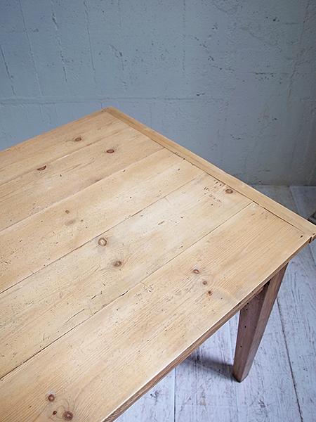 KC173 アンティーク オールドパイン テーブル