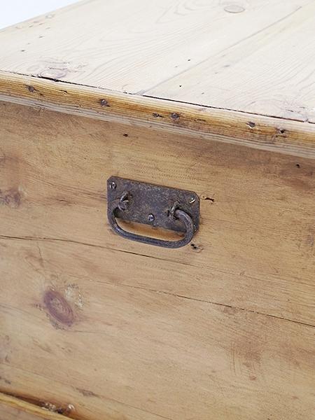 KC161 アンティーク オールドパイン ボックス