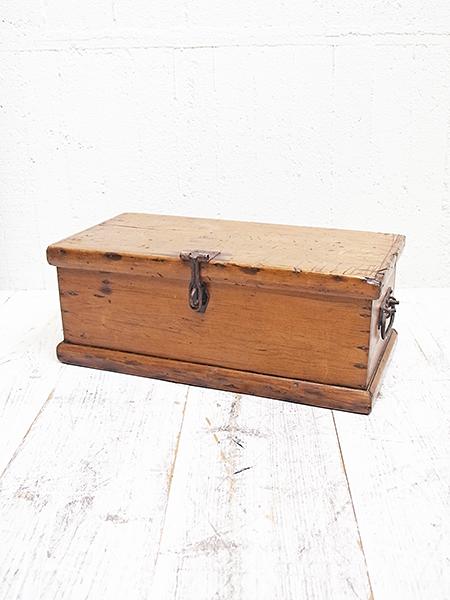 PJ800 アンティーク オールドパイン ボックス