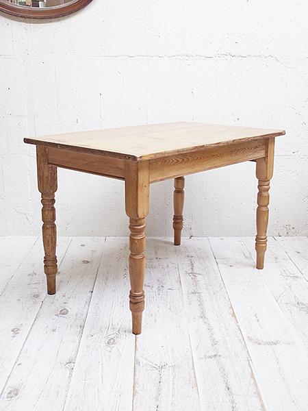 KE27 アンティーク オールドパイン テーブル