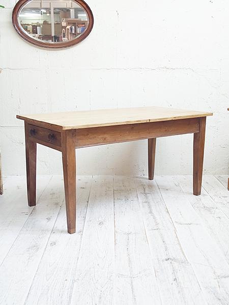 KE39 アンティーク オールドパイン テーブル
