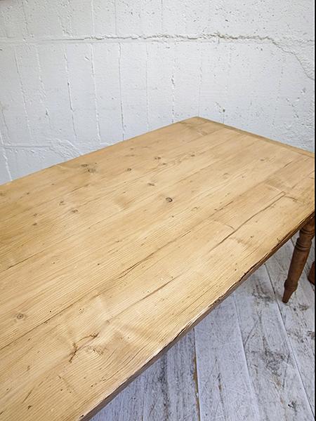 KE26 アンティーク オールドパイン テーブル