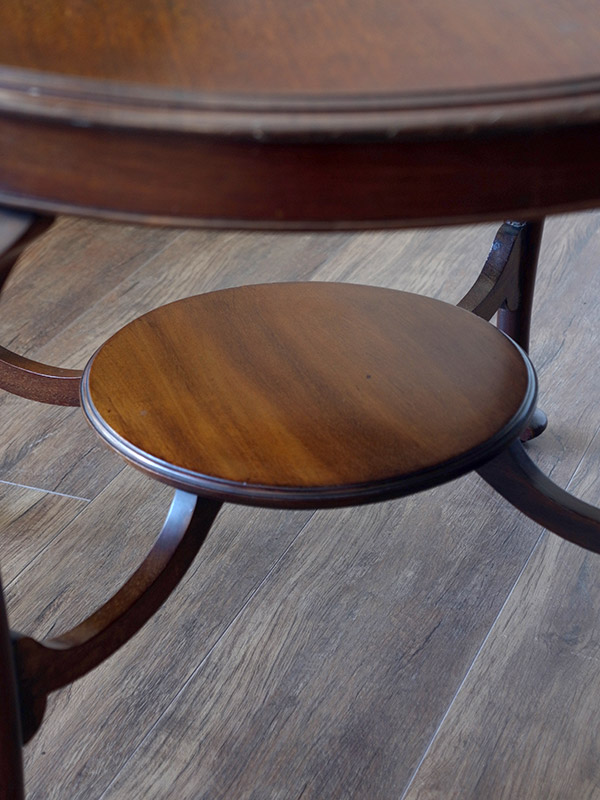 KC6 アンティーク マホガニーコーヒーテーブル