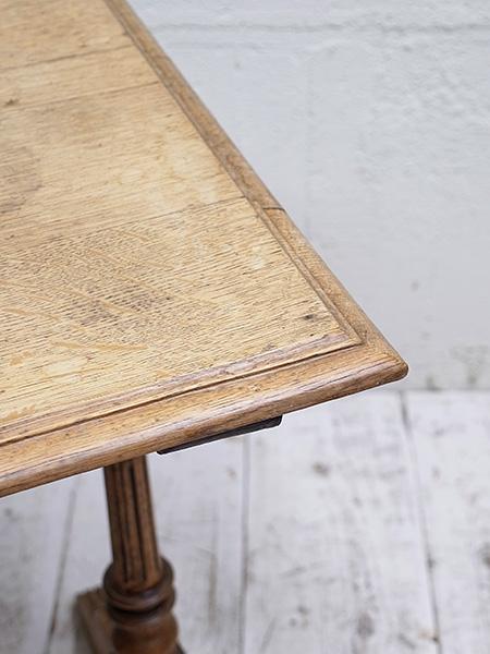 KE41a アンティーク フレンチ オーク ビストロテーブル