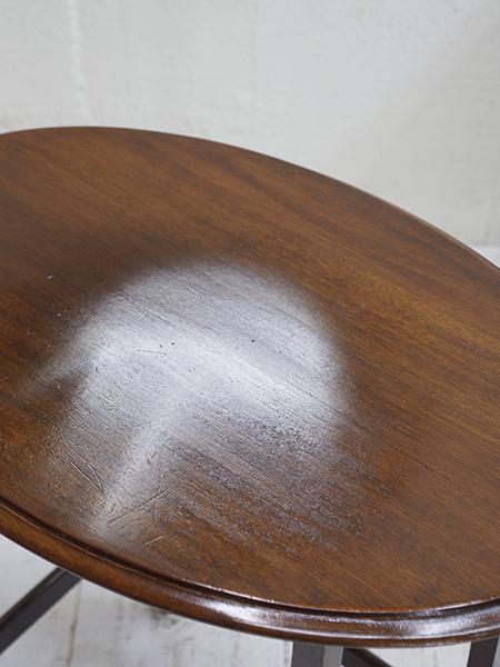 NC11 アンティーク マホガニーネストテーブル