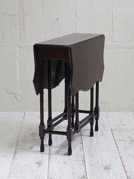 KF120 アンティーク マホガニーゲートレッグテーブル