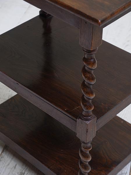 KF90 アンティーク オークサイドテーブル