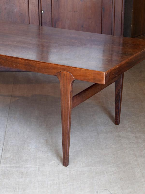 PJ820 アンティーク ローズウッドコーヒーテーブル