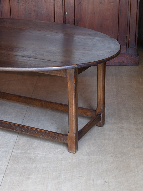 KF34 アンティーク オークコーヒーテーブル