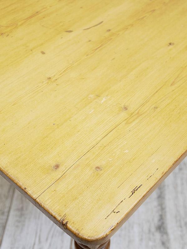 KF82 アンティーク パインテーブル