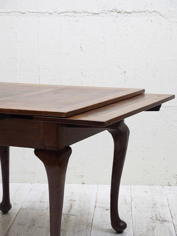 KF103 アンティーク オークドロアリーフテーブル