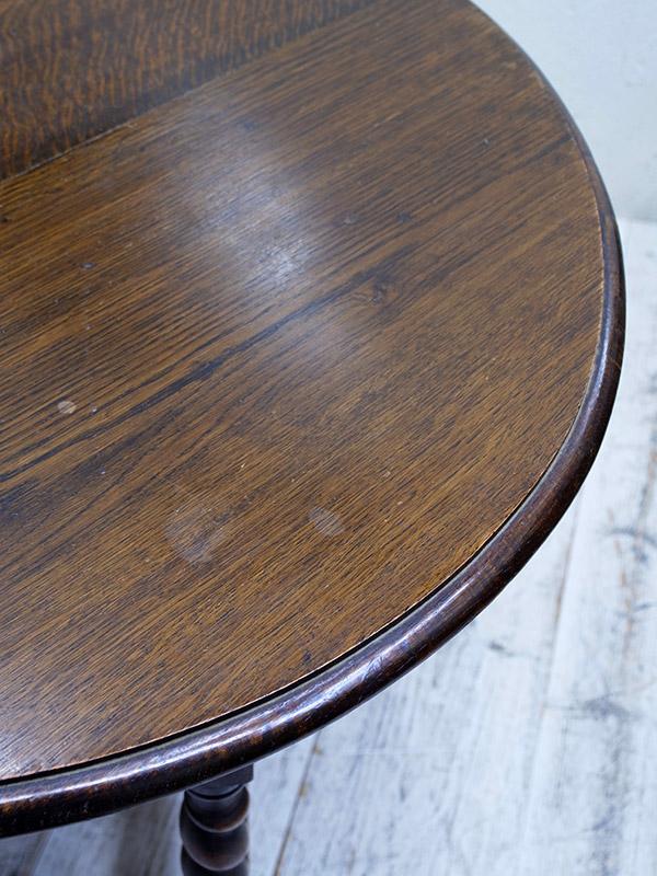 KF101 アンティーク オークゲイトレッグテーブル