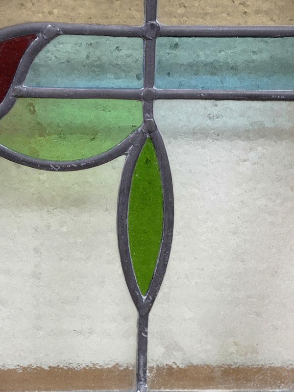 KF136e アンティークステンドガラス