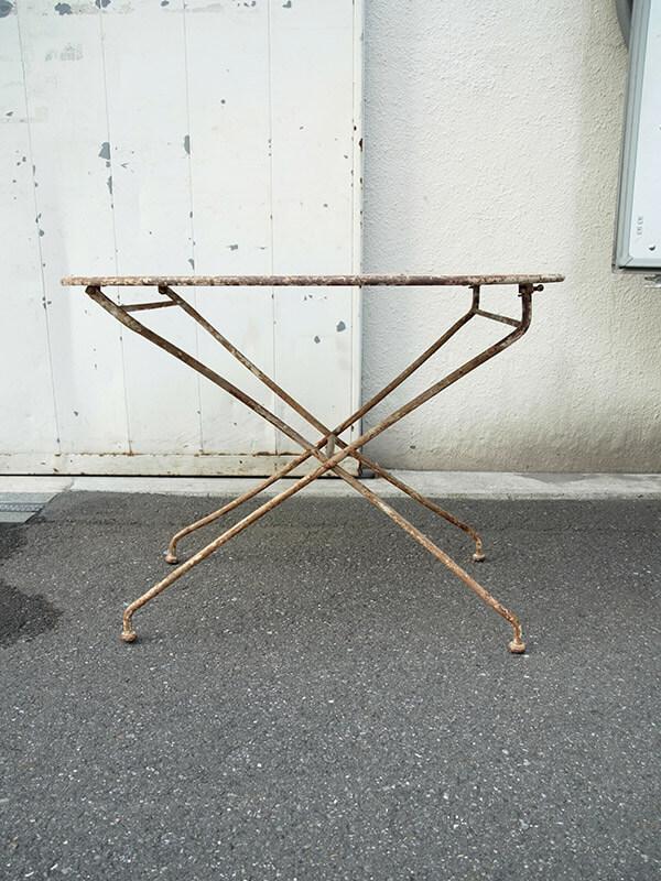 KM23 アンティーク フレンチガーデンテーブル