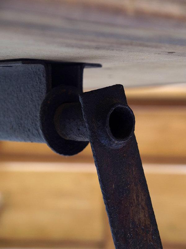 KX18 アンティーク フォールディングテーブル