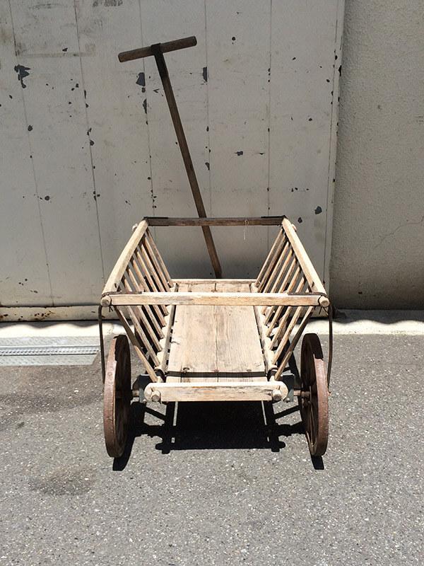 KE58 アンティーク ドッグカート