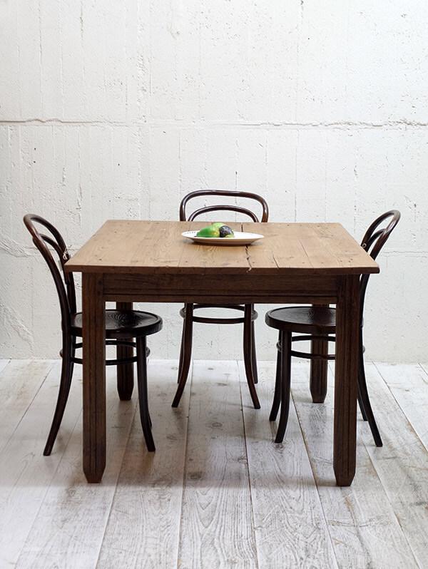 KE75 アンティーク オールドパインテーブル