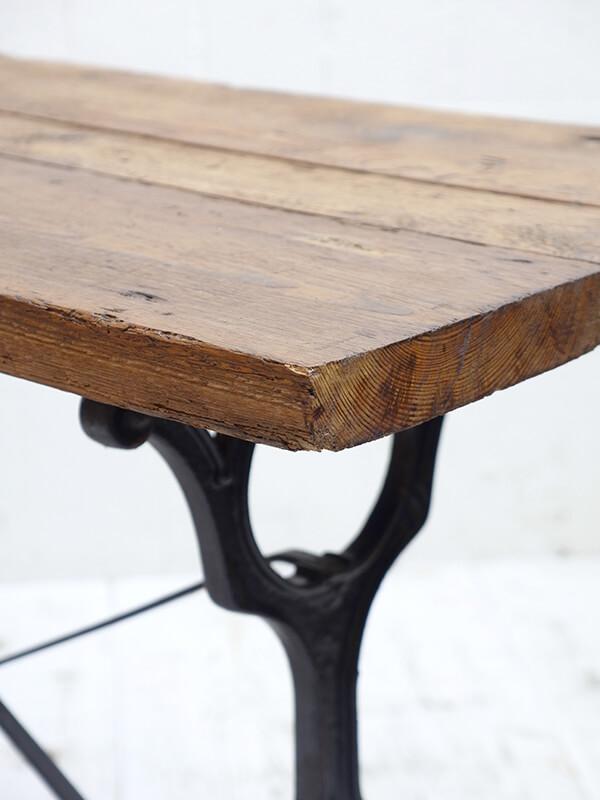 KG162d アンティーク フレンチビストロテーブル
