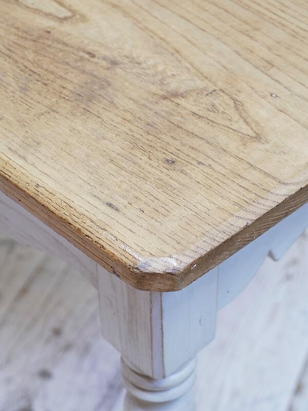 KG166 アンティーク ペイントテーブル