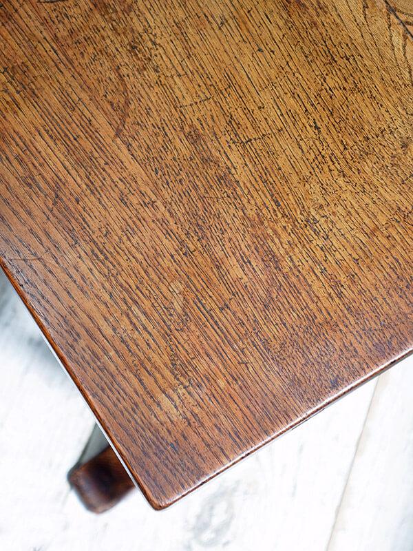 KG88b アンティーク オークコーヒーテーブル
