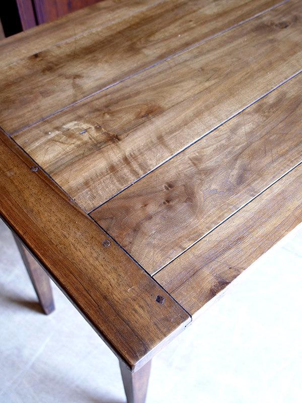 KG3 アンティーク フレンチウォルナットテーブル