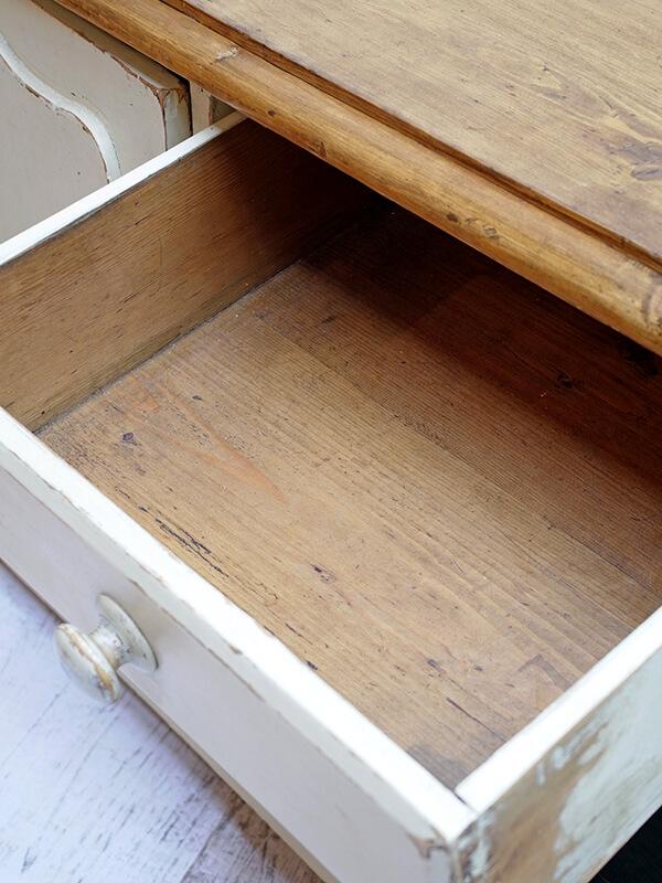 KG189 アンティークパイン ペイントサイドボード