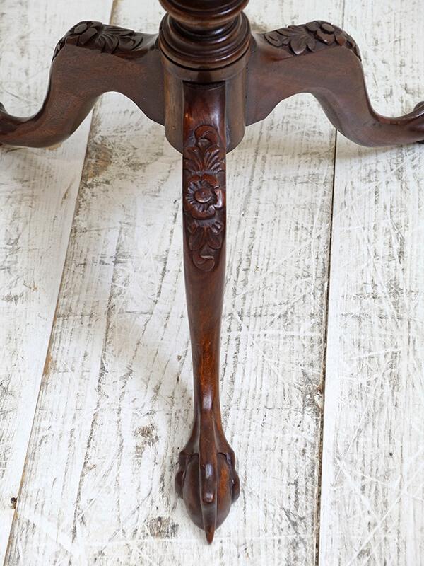 KG196 アンティーク マホガニーサイドテーブル