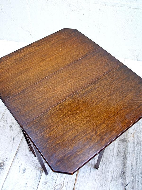 KH12  アンティーク オークサザーランドテーブル