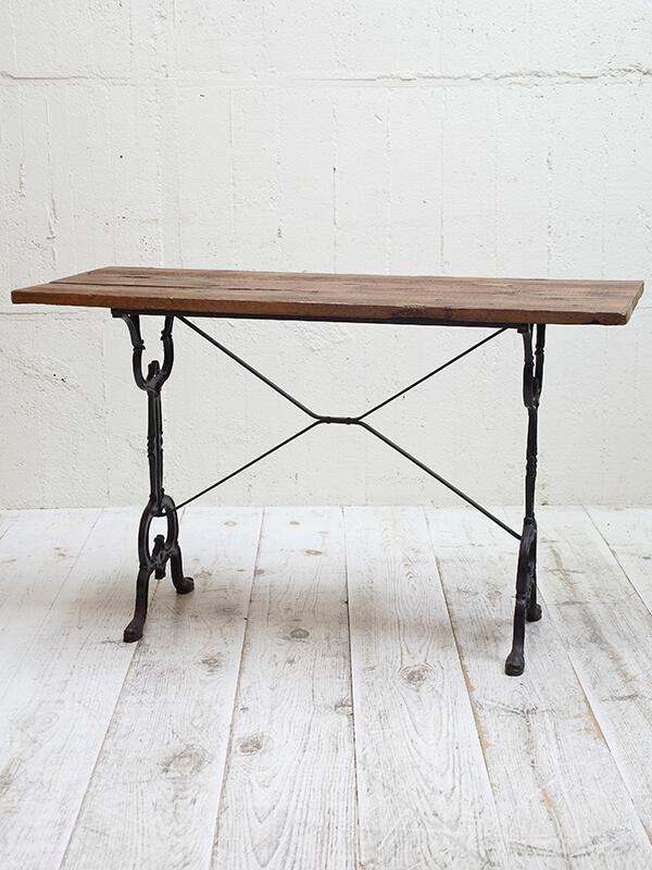 KG162a アンティーク フレンチビストロテーブル