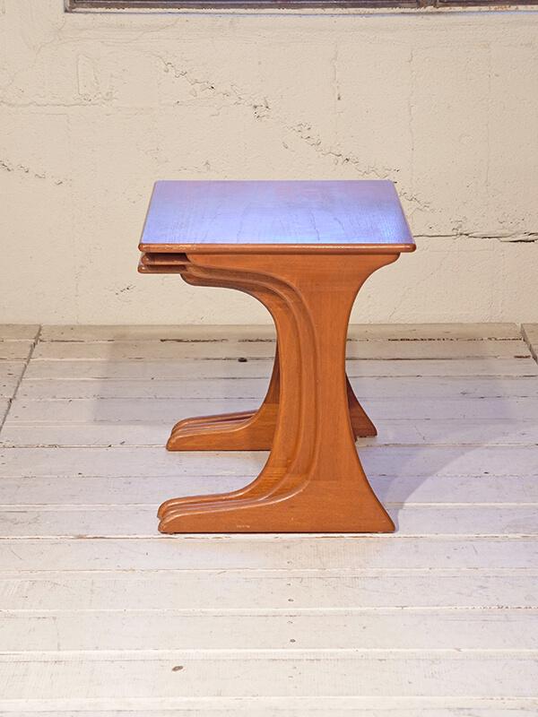 KG53 アンティーク レトロネストテーブル