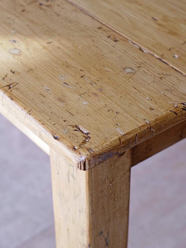 KG145 アンティークパイン テーブル