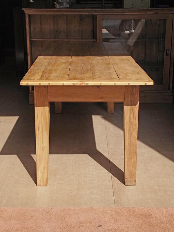 KG146 アンティーク パインテーブル