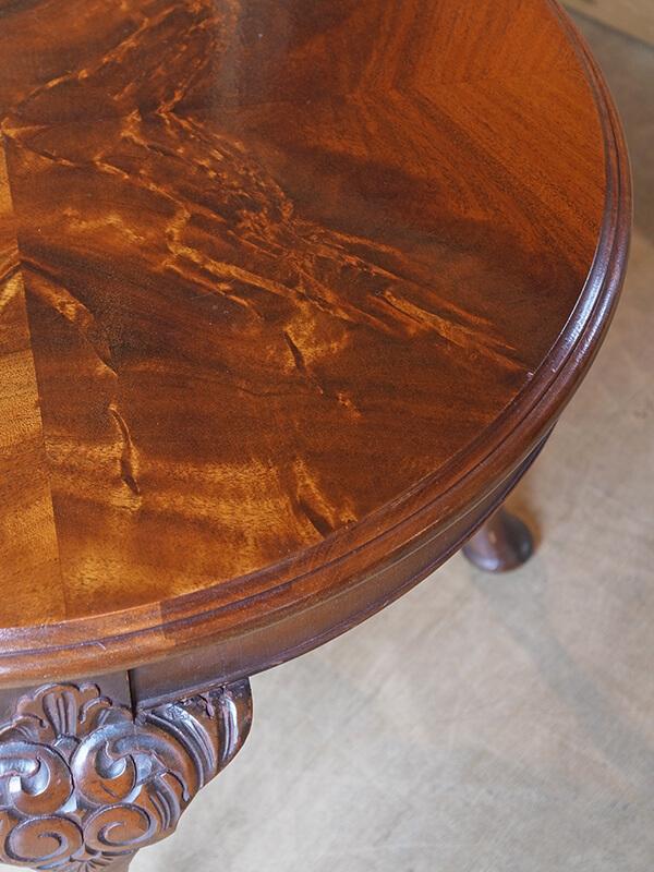 KJ13b アンティーク マホガニーコーヒーテーブル