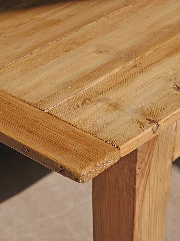 KG146 アンティーク フレンチパインテーブル