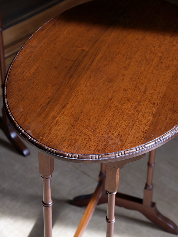 KJ166 アンティーク マホガニーネストテーブル