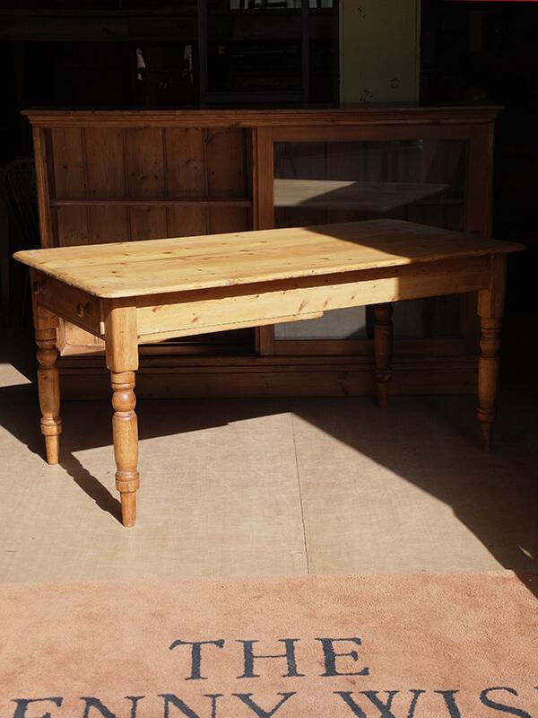 KG204 アンティークパイン テーブル