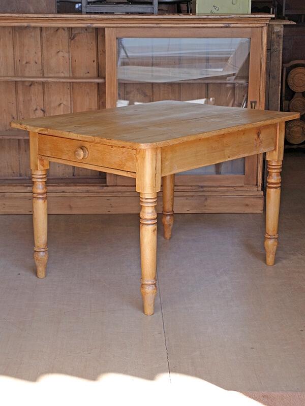 KG131 アンティークパイン テーブル