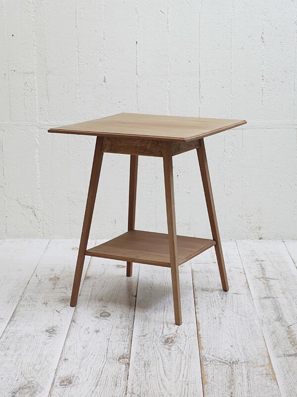 KJ93b アンティーク マホガニーサイドテーブル
