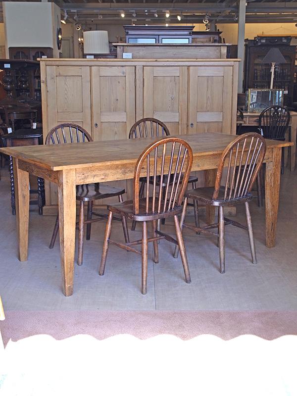 KJ76 アンティークパイン テーブル