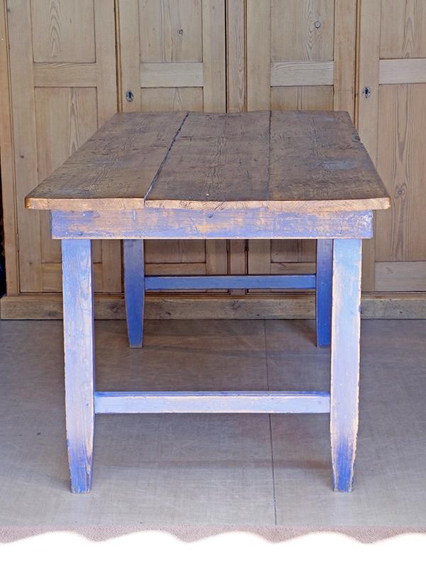KJ137 アンティークパイン ペイントテーブル