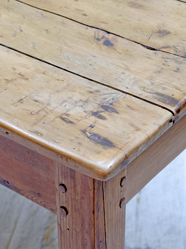 PJ975 アンティークパイン テーブル