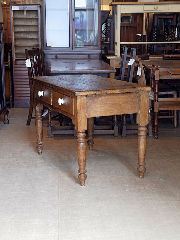 KJ214 アンティークパイン テーブル