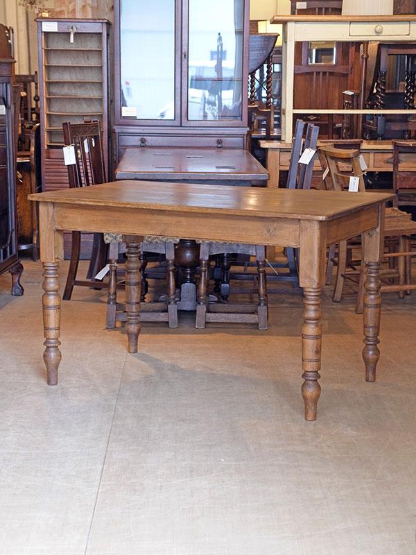 KJ216 アンティークパイン テーブル