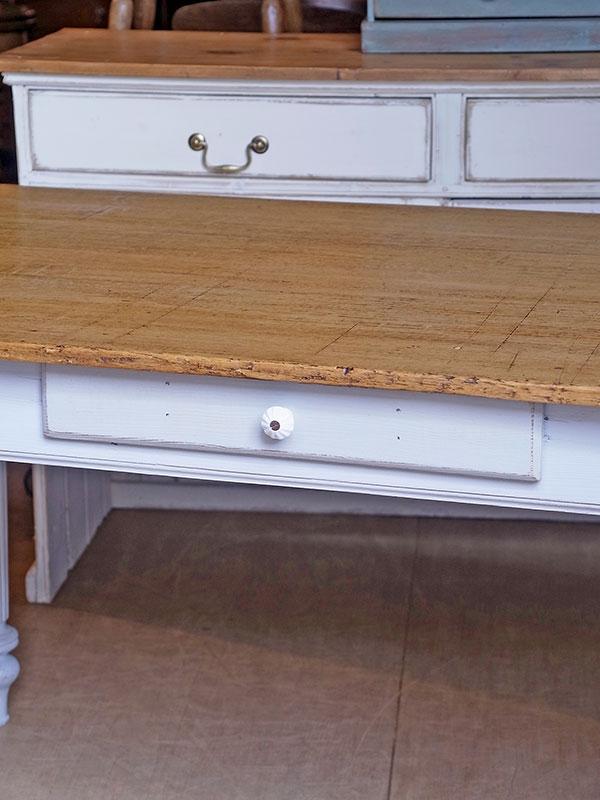 KL15 アンティークパイン ペイントテーブル