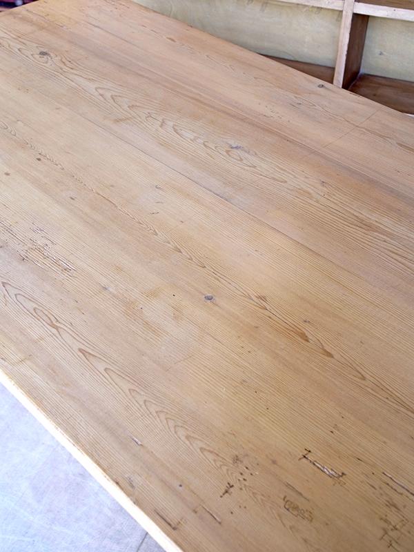 KJ199b アンティークパイン テーブル