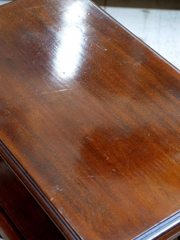 KL141 アンティーク マホガニーサイドテーブル