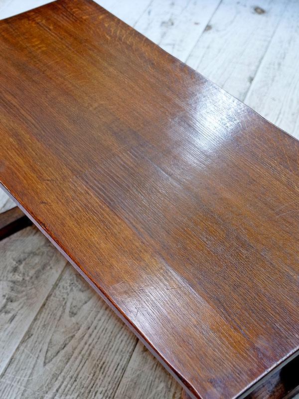 KL128 アンティーク オークコーヒーテーブル