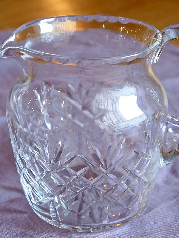 KL34i アンティーク ガラスジャグ